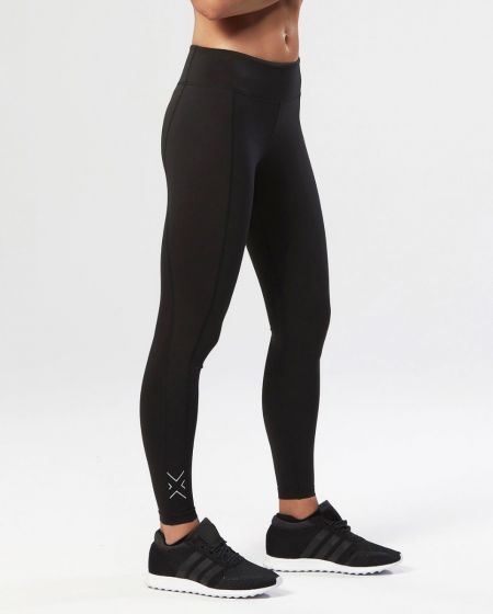 Fitness Compression Tights Dame - Sort