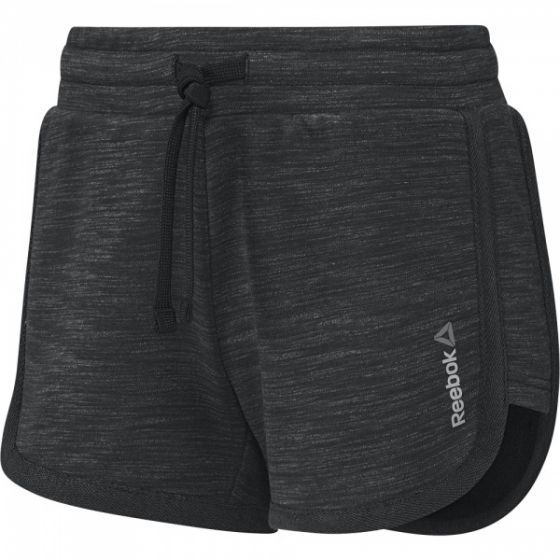 Elements Melange Short - Black