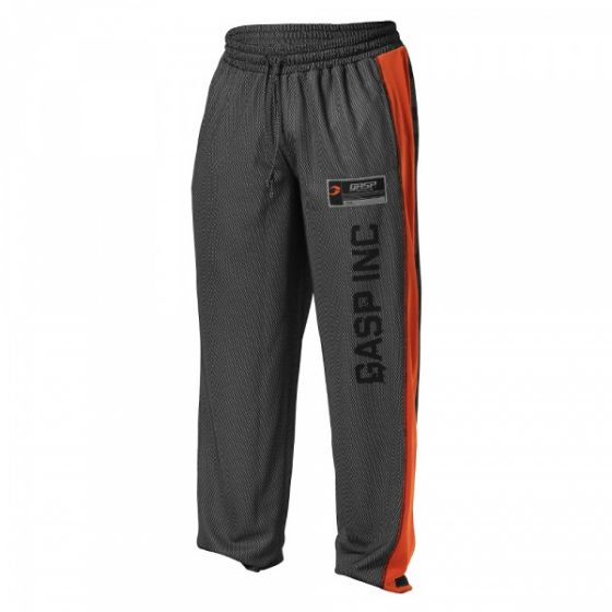 No1 Mesh Pant - Black/Flame