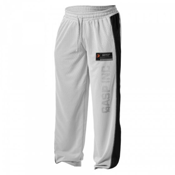 No1 Mesh Pant - White/Black
