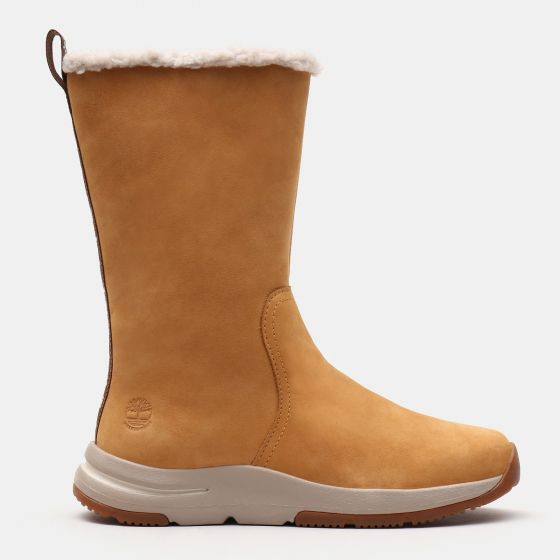 Mabel Town Pull On Boot Dame - Gul
