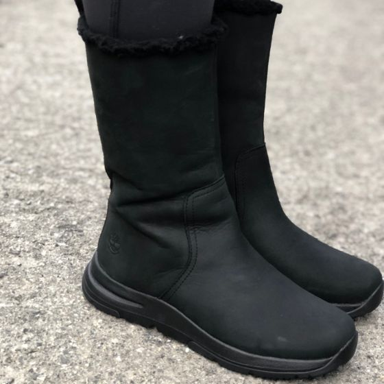 Mabel Town Pull On Boot Dame - Sort