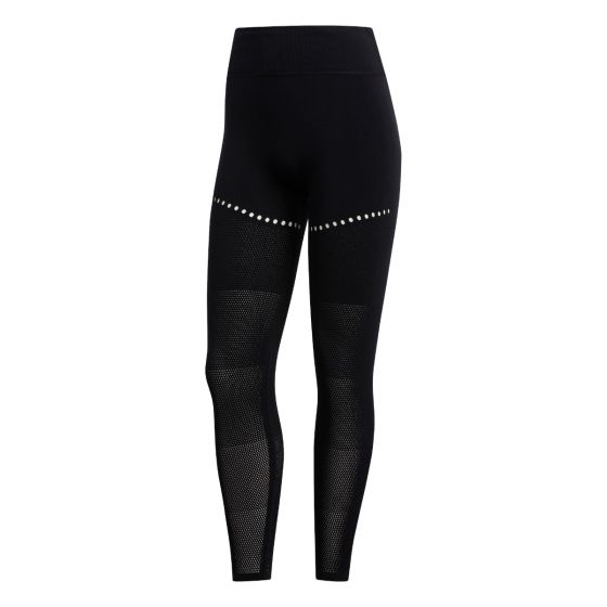 Warp Knit 7/8 Tights Dame - Sort