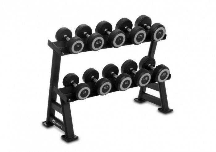 DumbbellRack Maxi Set Rubber