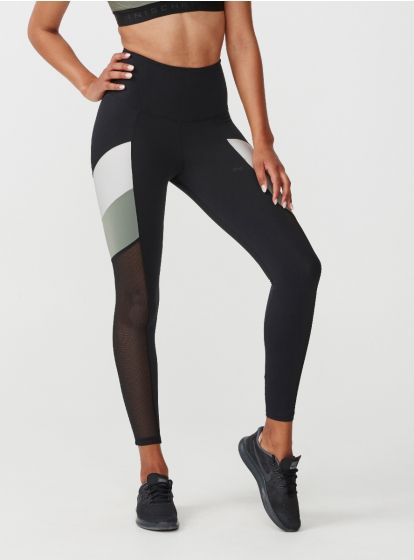 Uplift Block Tights - Grønn