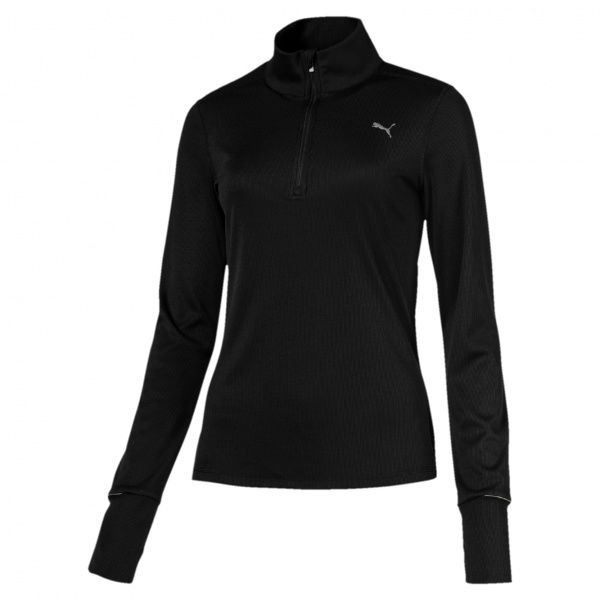 Ignite 1/2 Zip Top - Black