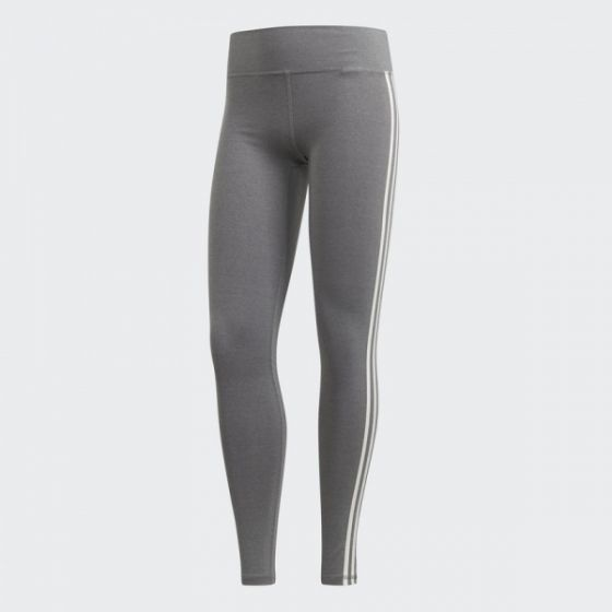 Believe This 3-Stripes Tights - Black / Grey