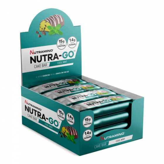 Nutra-GO Cake Bar Cool Mint 12 x 57 g