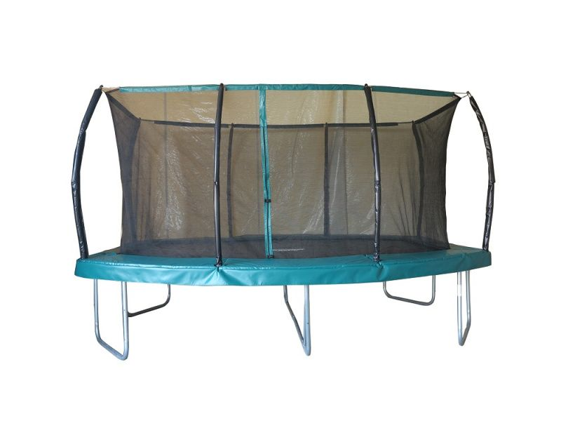 Barrel Oval Trampoline