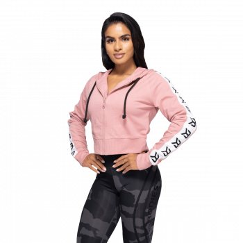 Vesey Cropped Genser Dame - Rosa