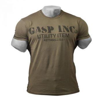 Basic Utility Tee - Wash Green