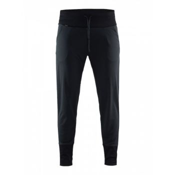 Pep Long Pants Dame - Black Melange
