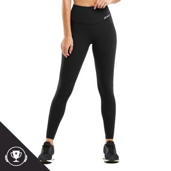 Fitness Hi-Rise Compression Tights Dame - Sort