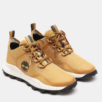 Brooklyn WP Super Ox Sneakers Herre - Gul