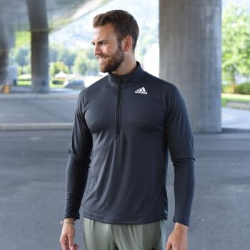 Freelift Training Half Zip Genser Herre - Sort