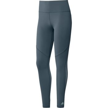 Believe This Long 3-Stripes Mesh Tights Dame - Blå