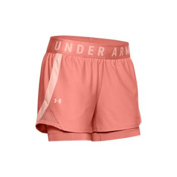 Play Up 2-in-1 Shorts Dame - Orange
