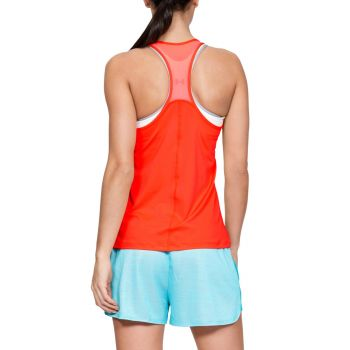 HeatGear Armour Racer Singlet Dame - Orange