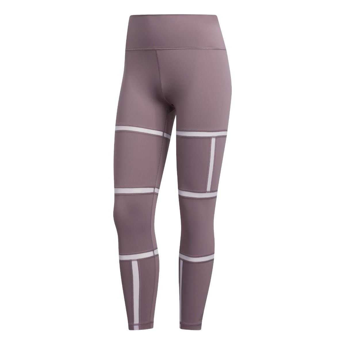 Believe This Geo Mesh Long Tights Dame - Lilla
