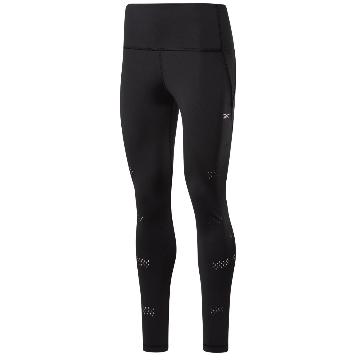 Lux Perform HighRise Perforated Tights Dame - Sort