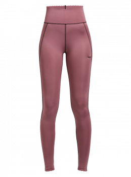 Laser Cut Tights Dame - Rosa