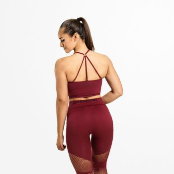 Astoria Seamless Sports-BH Dame - Rød