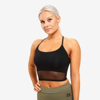 Bronx Seamless Sports-BH Dame - Sort