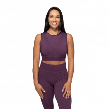 Roxy Seamless Sports-BH Dame - Lilla