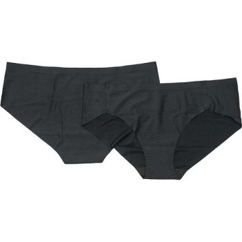 Aiswood Seamless 2 Pack Hipster Dame - Sort