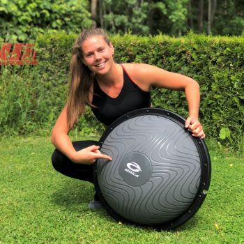 Soft Step Bosu Ball - Sort