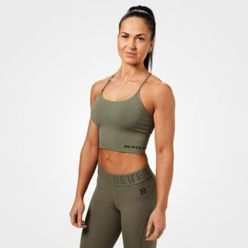 Astoria Seamless Bra - Wash Green