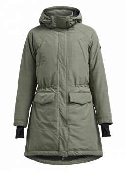 All Weather Parka Dame - Grønn