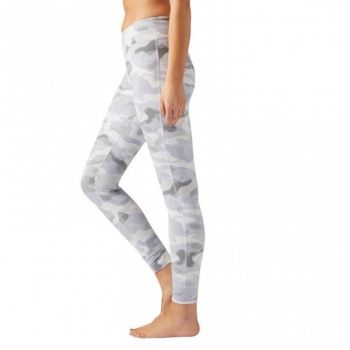Lux Tights - Camo Chalk