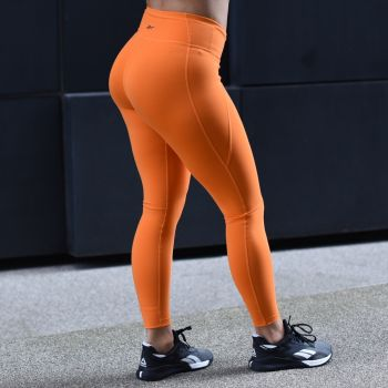 Lux Vector Graphic Tights 2.0 Dame - Orange