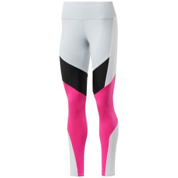 Lux Colorblocked Tights 2.0 Dame - Rosa