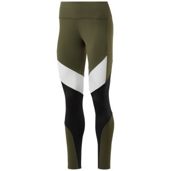 TS Lux Colorblocked Tights 2.0 Dame - Grønn