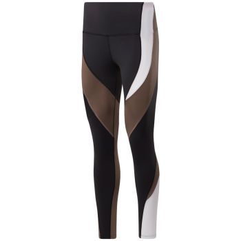 TS Lux Colorblocked Tights Dame - Sort