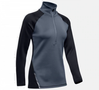 ColdGear Armour Half Zip Color Block Genser - Blå