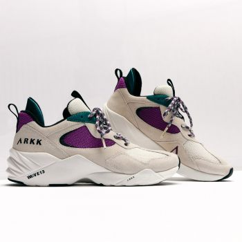 Kanetyk Suede W13 Chunky Sneakers Dame - Lilla