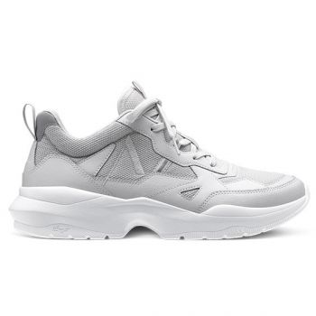 Quantm Leather T-G9 Chunky Sneakers Dame - Grå