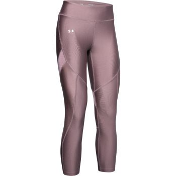 HeatGear Armour Ankle Crop Tights Dame - Rosa