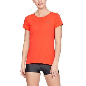 HeatGear Armour T-skjorte Dame - Orange