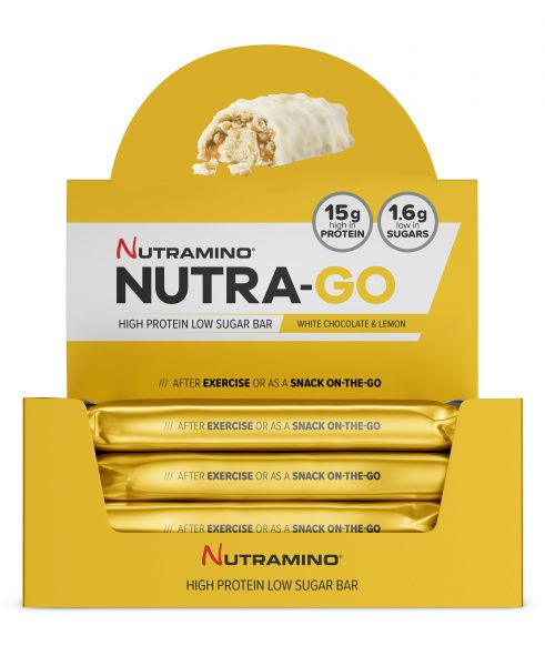 Nutra-GO Proteinbar White Chocolate & Lemon 12 x 6