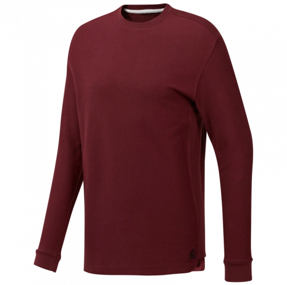 Training Essentials Twill Crew Genser Herre - Rød