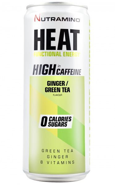 HEAT Ginger & Green Tea 24 x 330 ml